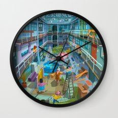 Budpapest Bang summer Wall Clock