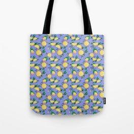 Purple lemons Tote Bag