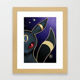 UMBREON Framed Art Print