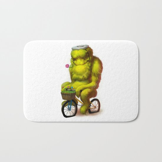 Bike Monster 1 Bath Mat