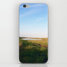 """""""Afternoon at the Marsh, Tybee Island, Georgia"""" by Simple Stylings iPhone Skin"""