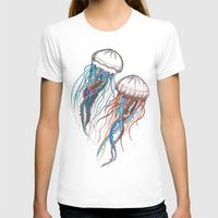 jellyfish T-shirts featuring JellyFish by Ana Grigolia