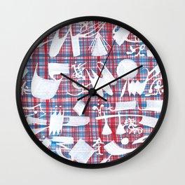 Abstract Symbols 01 Wall Clock