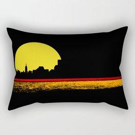 minimal sunset Rectangular Pillow