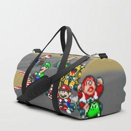 Mario Circuit Duffle Bag