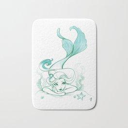 Seaweed Mermaid Bath Mat