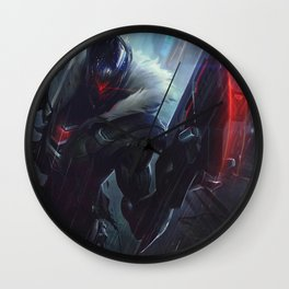 PROJECT Jhin League Of Legends Wall Clock