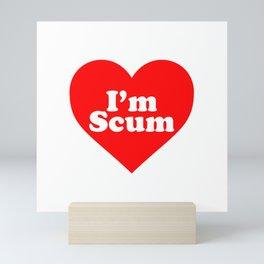 IDLES - I'M SCUM HEART Mini Art Print