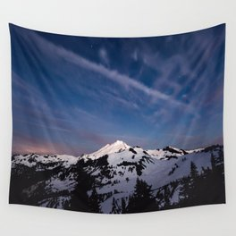 Mount Baker - Nature Photography Wall Tapestry