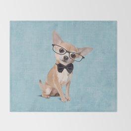 Mr. Chihuahua Throw Blanket