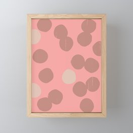 DOTS II Framed Mini Art Print