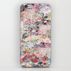 Glasgow map iPhone & iPod Skin