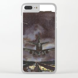 There Is No destination; You Just Keep On Going Clear iPhone Case