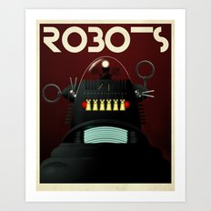 Robots - Robby Art Print