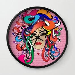 She Is Wall Clock