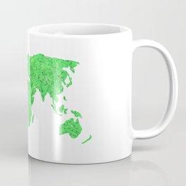 Environment Concept World Map Illustration Coffee Mug