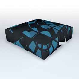 Abstract Dartboard Outdoor Floor Cushion