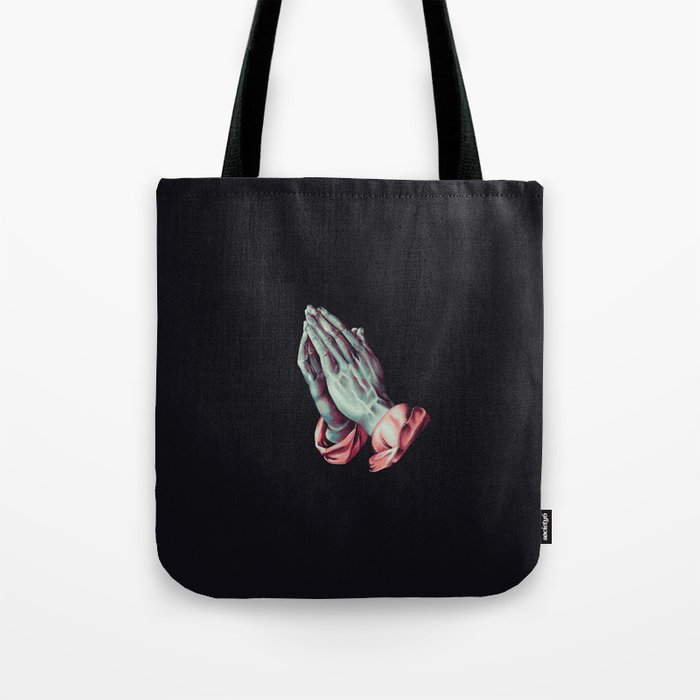 4e9f28fb62c4 Praying Hands (Albrecht Durer) Digital Painting Tote Bag by nmdl ...