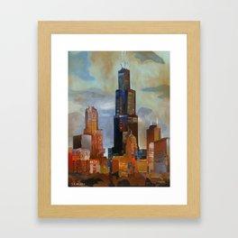 Sears Tower Framed Art Print