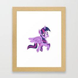 Let's Fly Crewneck Framed Art Print