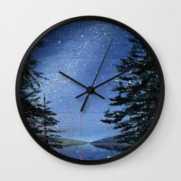morning stars Wall Clock