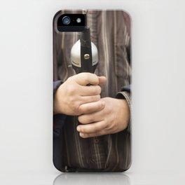 Fishing on Cayuga iPhone Case