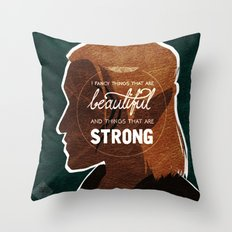 Things That Are Beautiful Throw Pillow