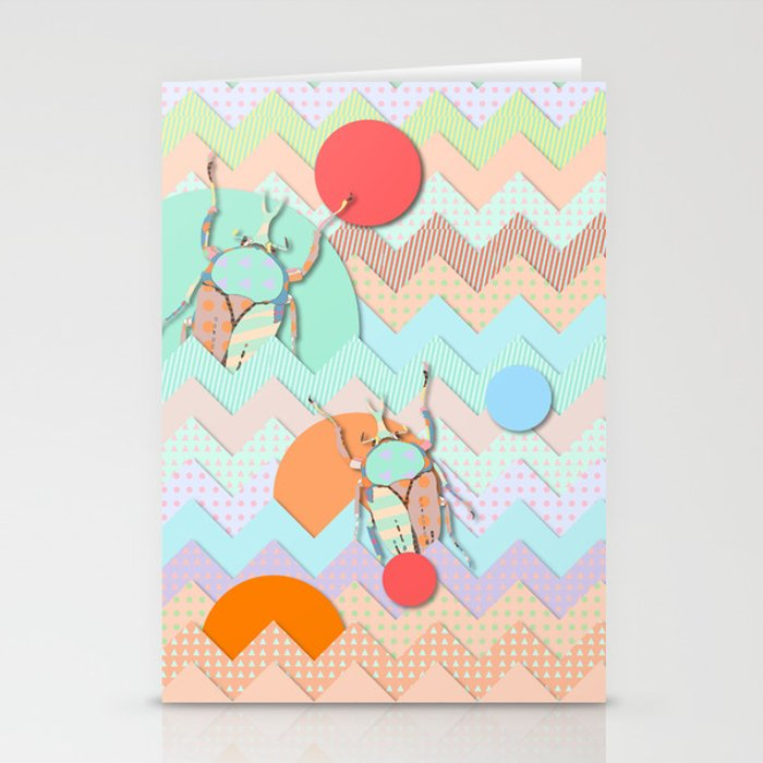 Insect VI Stationery Cards