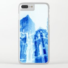 Crystal Cathedral Clear iPhone Case