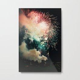 Bursts of light. Metal Print