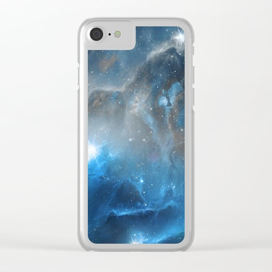 Ice, Dust and a Billion of Stars Clear iPhone Case