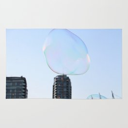 Bubbles Over Vancouver Rug