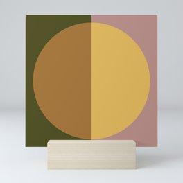 Color Block Abstract IX Mini Art Print