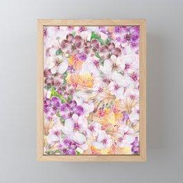 02 | FLORAL PARADISE Framed Mini Art Print