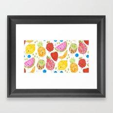 Fruits print Framed Art Print