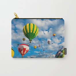 Vibrant Hot Air Balloons Carry-All Pouch