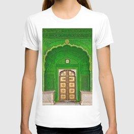 Ganesh Palace in Jaipur India Doorway T-shirt