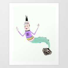 Sireno Art Print