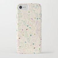 zodiac iPhone & iPod Cases featuring zodiac by Kristina Nuetzmann