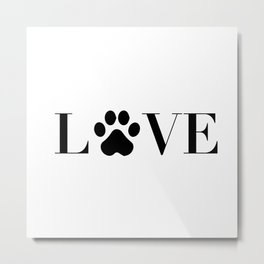 Love animal Metal Print