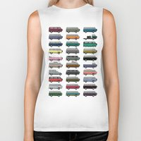 van Biker Tanks featuring Camper Van by WyattDesign