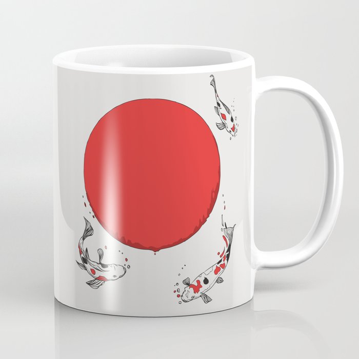 Koi and Sun Coffee Mug