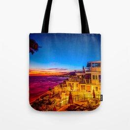 Twilight 5639 Laguna Riviera Beach Resort Tote Bag