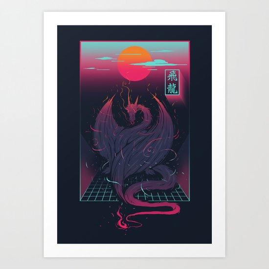 Fei Long Art Print