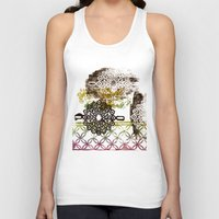 arab Tank Tops featuring Patterned to Win by Bestree Art Designs
