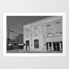 Ghost Town Art Print