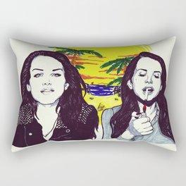 THE ULTRAVIOLENCE GIRL Rectangular Pillow