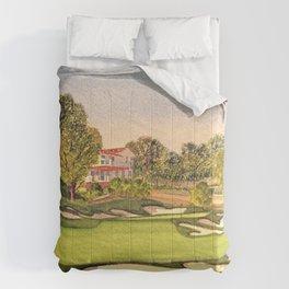 Pasatiempo Golf Course Hole 3 Santa Cruz Comforters
