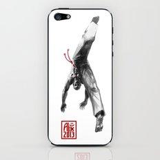 The Masked Capoeiristas iPhone & iPod Skin