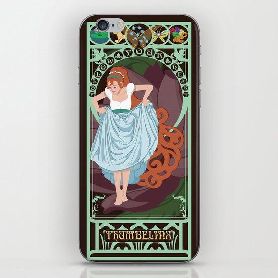 Thumbelina Nouveau - Thumbelina iPhone & iPod Skin